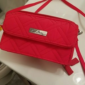 Vera Bradley Bags - Vera Bradley pink clutch